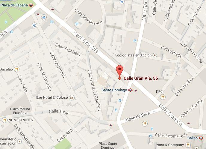 centro de psicología en Madrid calle Gran Vía, 55